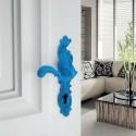 Poignée de porte Rococo Pop bleu