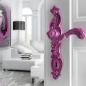 Poignée de porte Rococo Pop violet