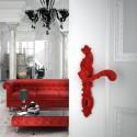 Poignée de porte Rococo Pop rouge