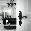 Poignée de porte Rococo Pop noir