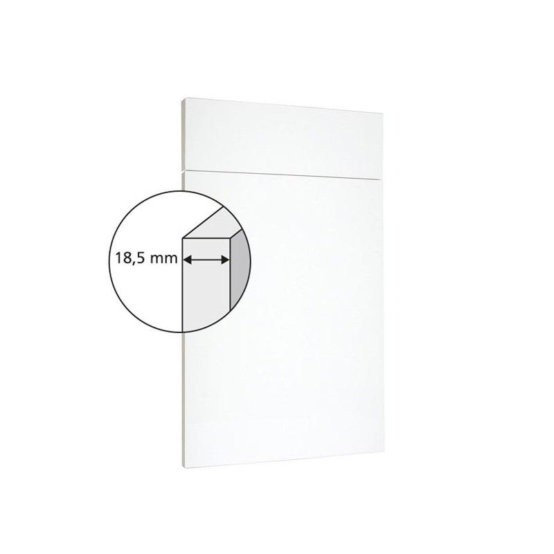 pianovo silk blanc satin fa ade de cuisine sur mesure. Black Bedroom Furniture Sets. Home Design Ideas