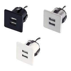 Mini bloc prises USB carré FRIEND
