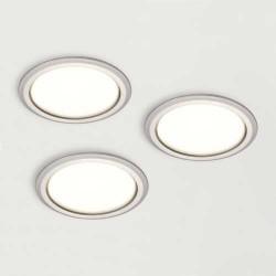 Kit 3 spots LED 230V diamètre 58 mm SYKE