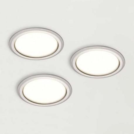 Kit 3 spots LED 230V diamètre 58 mm