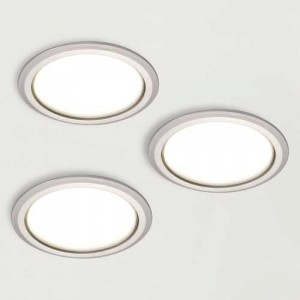 Kit 3 spots LED 230V diamètre 78 mm SYKE