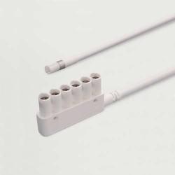Fil d'alimentation SYKE / SYKO / Micro Lynx, 6 spots, longueur 2000 mm