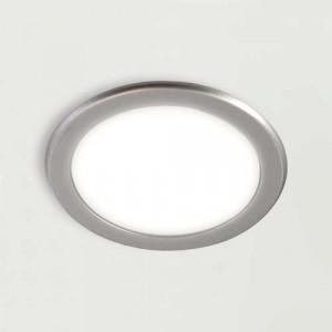 Spot LED rond 3W à encastrer ajustable de blanc froid/blanc chaud FEYA