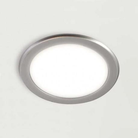 Spot rond 3W à encastrer blanc ajustable FEY