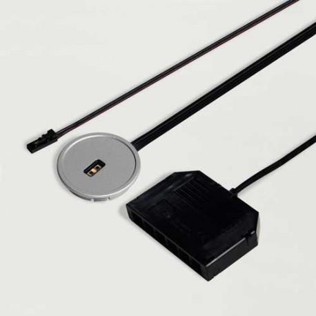 Interrupteur/variateur blanc ajustable FEYA