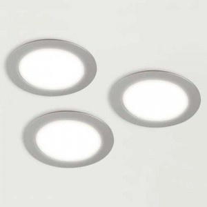 Kit 3 spots LED OBASI rond 12V