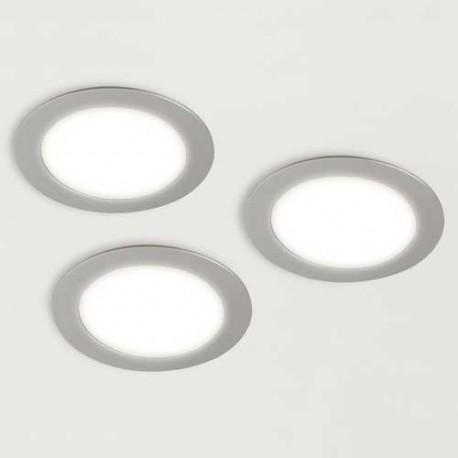 Kit 3 spots LED OBASI rond 12V