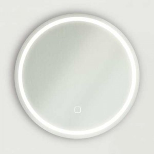 Miroir rond avec luminaire ECLIPSE