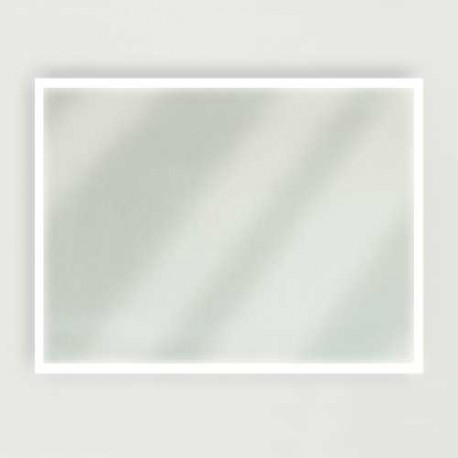 Miroir rectangulaire avec contour lumineux SPIRIT