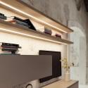 Réglette LED blanc ajustable en applique 12V BLINK