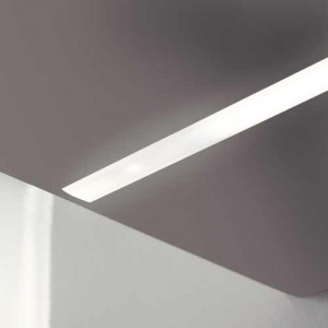 Réglette LED à encastrer 12V avec interrupteur BLINK