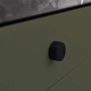 Bouton de meuble noir STEREO de FURNIPART