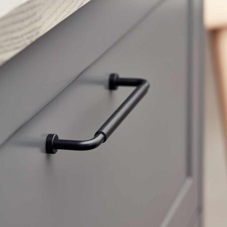 Poignée de meuble cuir / inox LOUNGE de FURNIPART