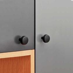 Bouton de meuble noir RALLY de Furnipart