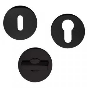 Rosaces rondes noire SAFETY