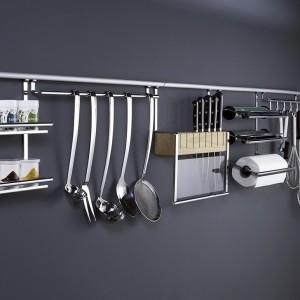 Accessoires cr dence cuisine pour un rangement pratique - Barre de credence cuisine ...