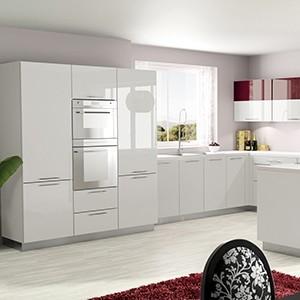 Fa ades sur mesure pour meuble de cuisine blanches Facade cuisine seule