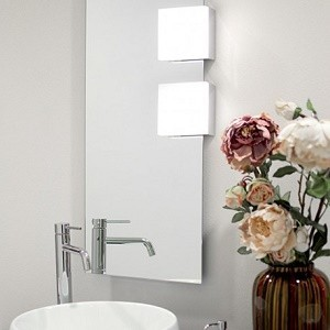 Eclairage de salle de bain - Spot LED et miroirs éclairants