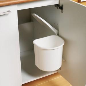 Poubelle de cuisine encastrable pivotante coulissante - Poubelles de salle de bain originales ...
