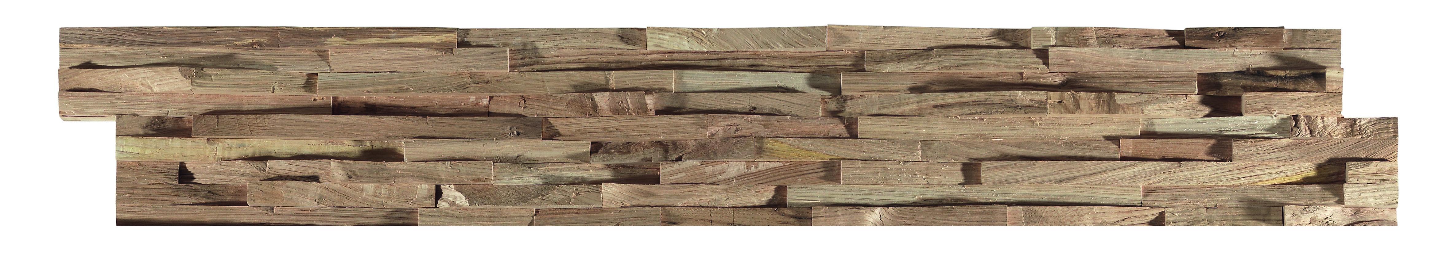 Panneau mural d coratif oslo en bois naturel de ch ne - Panneau mural decoratif isolant ...