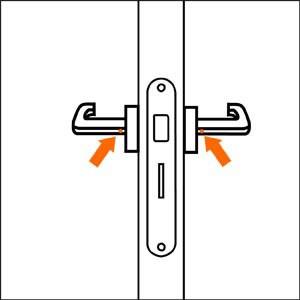 Comment poser une poign e de porte guides et conseils - Comment ouvrir une porte sans poignee ...
