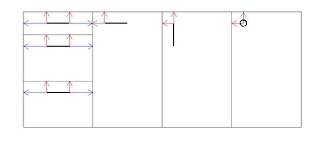 Hauteur standard poignee de porte dimension porte for Hauteur bloc porte standard