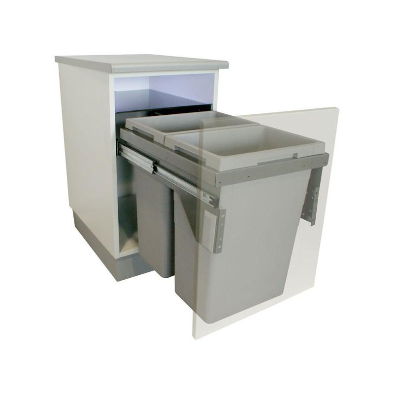 Poubelle tiroir cuisine id es de - Poubelle de cuisine integree ...
