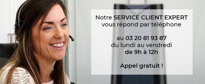 Service client I Love Details