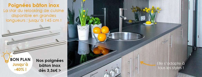 Poignées bâton incontournables dans votre cuisine