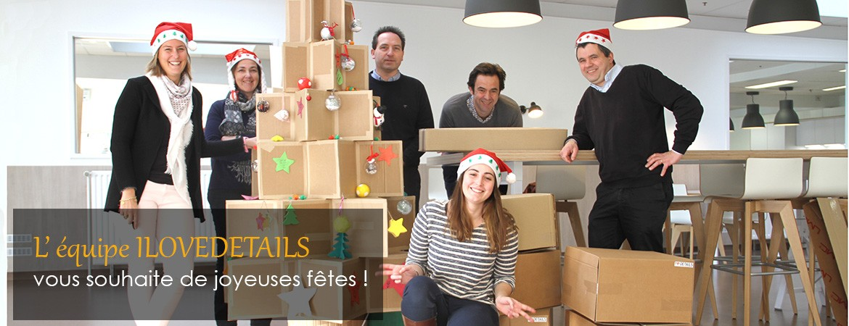 L'équipe ILOVEDETAILS vous souhaite de joyeuses fêtes !