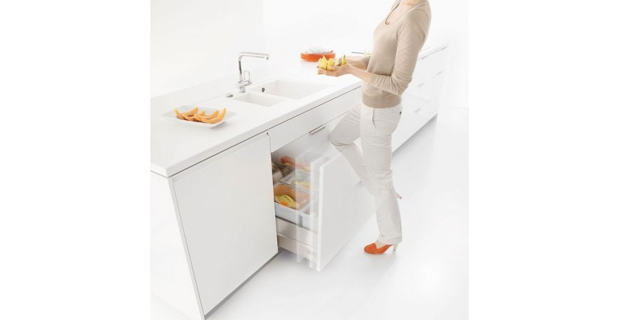 La poubelle pour tiroir