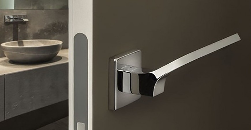 La poign e de porte d 39 int rieur guides et conseils pour for Porte interieur salle de bain