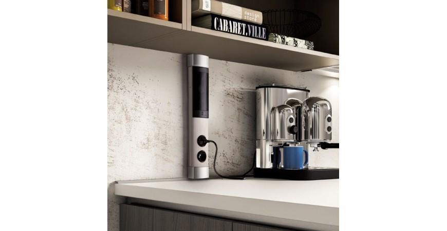 les diff nts types de blocs prises pour la cuisine. Black Bedroom Furniture Sets. Home Design Ideas